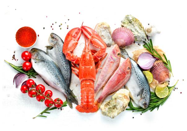 Изображение морепродуктов